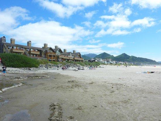 The Ocean Lodge: vue de l'hôtel pris de la plage