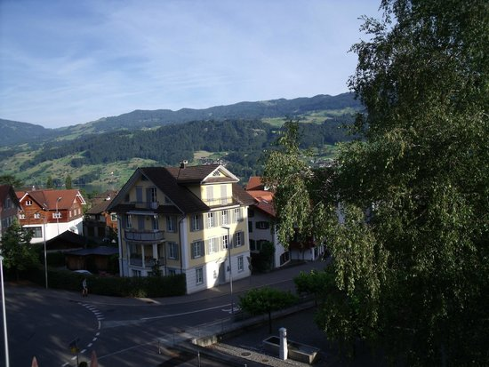 Kreuz Sachseln Hotel Restaurant: Vista desde la ventana