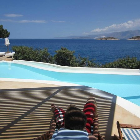 St. Nicolas Bay Resort Hotel & Villas: Our private pool