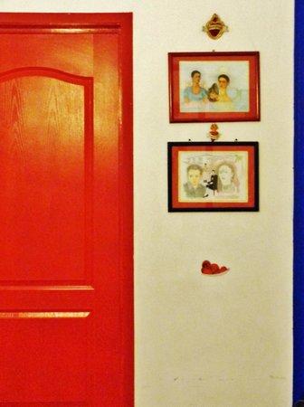 Hostal B&B Dos Fridas y Diego : Recepción