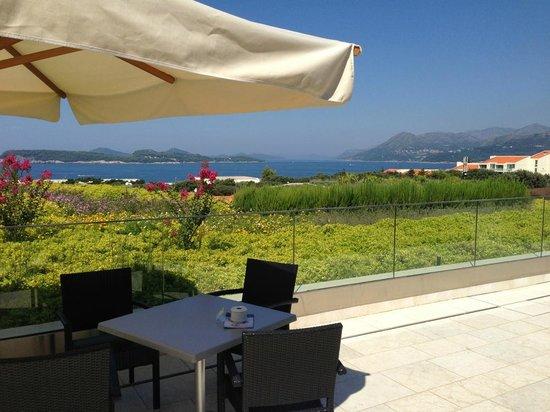 Valamar Lacroma Dubrovnik: terrace