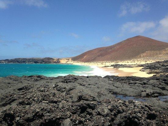 Islas Graciosa: Playa des de el espigon