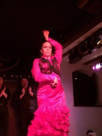 Corral De La Moreria : Flamenco dancing