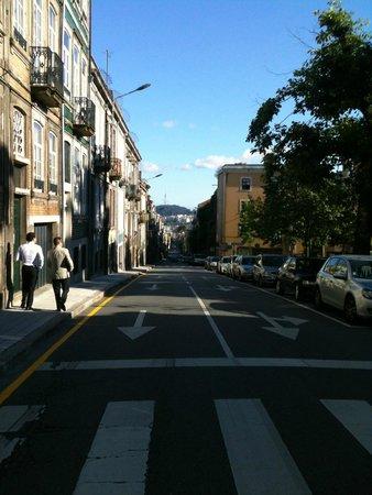 Pedra Iberica : Der Weg vom Gästehaus zum Zentrum.