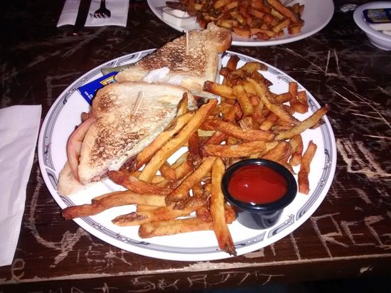 Sneaky Dee's Downtown: BLT with fries