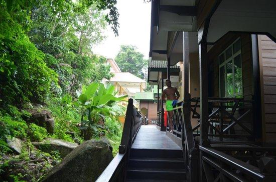 Perhentian Tuna Bay Island Resort: chalet