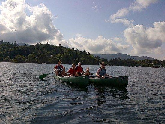 Keswick Canoe and Bushcraft: Canoe Fun!