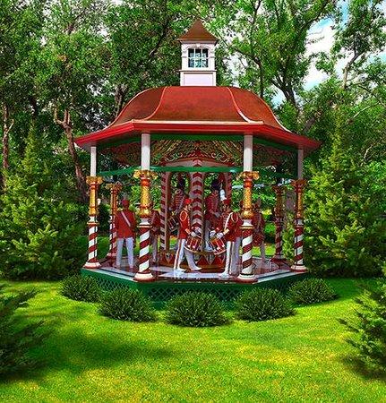 The 12 Days of Christmas exhibit - Picture of Dallas Arboretum ...