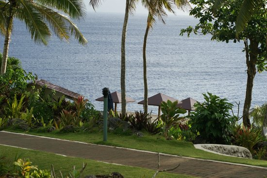 Scenic Matavai Resort Niue: View from our room