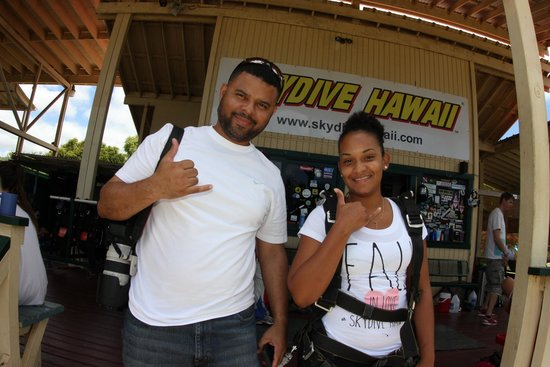Skydive Hawaii: Shaka!