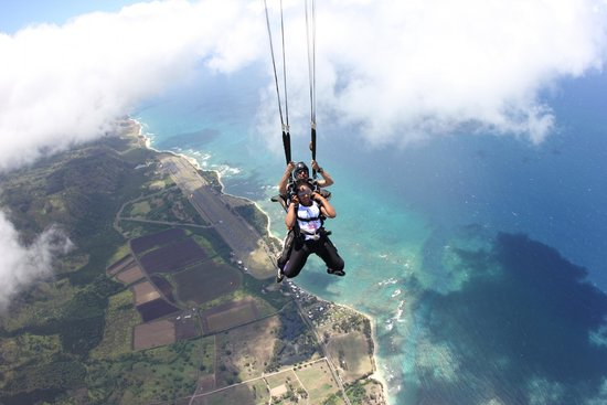 Skydive Hawaii: Oh chute!