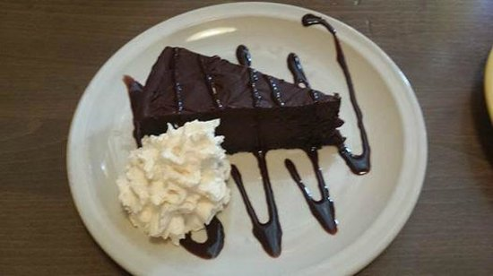 San Pedro Cafe: chocolate habanero torte ends your meal with a zing!