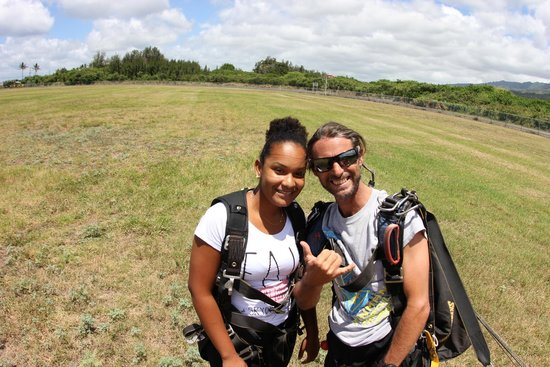 Skydive Hawaii: Landed safely!