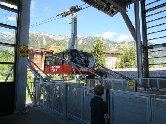Jackson Hole Aerial Tram: The tram car