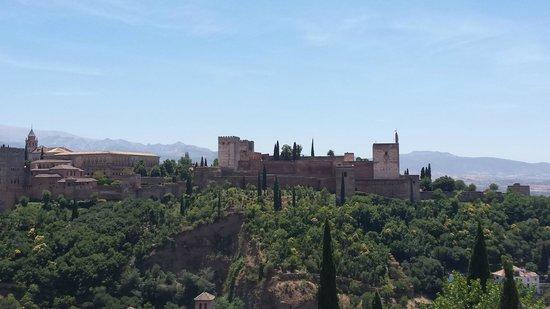 El Huerto de Juan Ranas : One cannot complain about the view