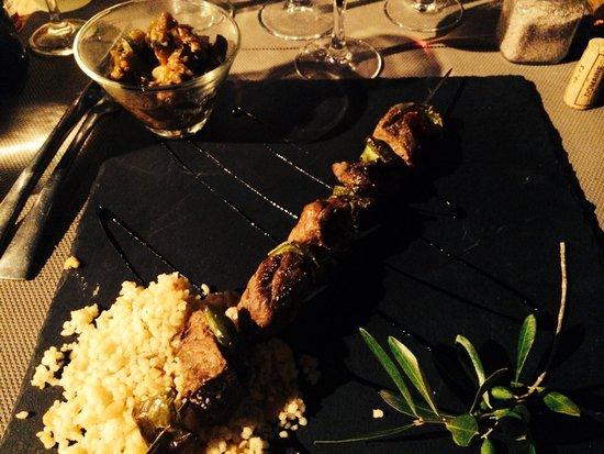 U CANTONU : Brochette végétarienne