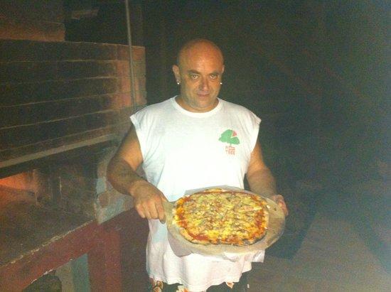 Pizza Tree: buena pizza