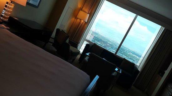 Trump International Hotel Las Vegas: My room on the 49th floor