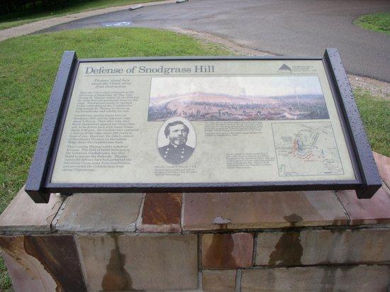Chickamauga Battlefield: Rock of Chicamauga
