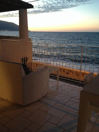 Residence NerOssidiana: Relax in balcone