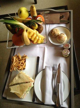 Les Manoirs de Tourgeville: Room service impeccable et surtout délicieux ;-)