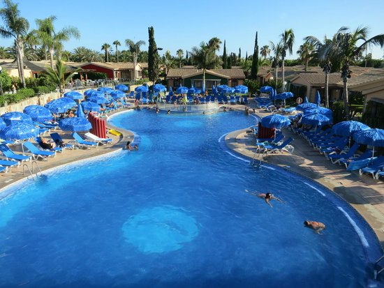 Dunas Maspalomas Resort: Pool view from the restaurant