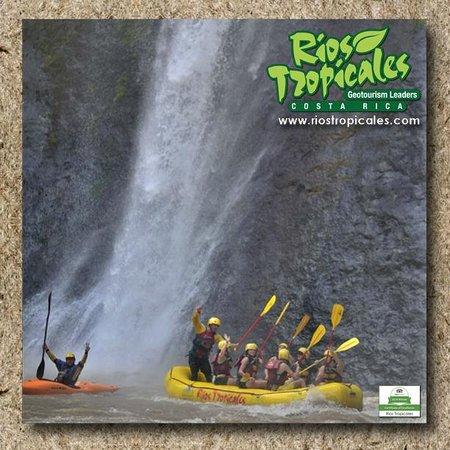 Rios Tropicales: Huacas Falls, Pacuare River, Costa Rica