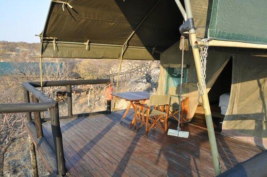 Eagle Tented Lodge & Spa: ingresso della tenda