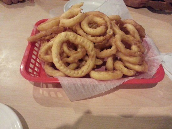 Nicky D's Pizza: Onion rings
