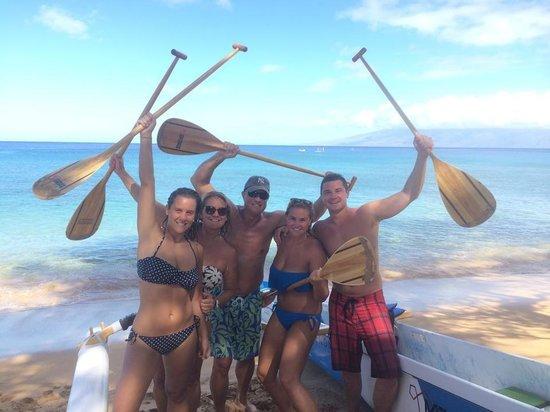 Maui Paddle Sports: Family FUN!!!!