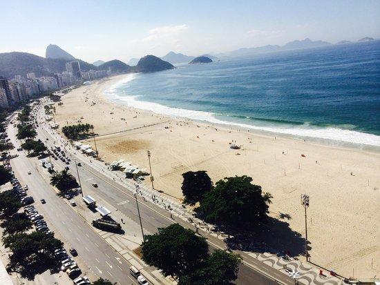 Pestana Rio Atlantica: foto lateral desde la azotea