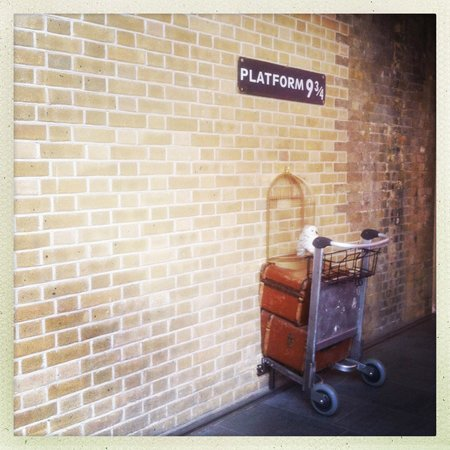 King's Cross Station: Platform 9 3/4