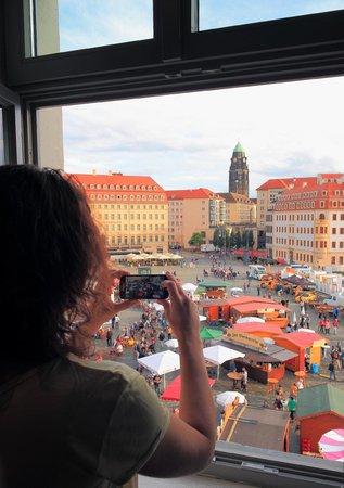 Vienna House QF Dresden : Grandiose Aussicht