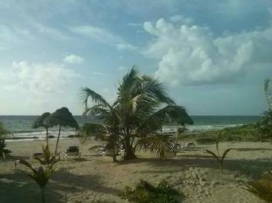 Mahahual Beach: Una vista de mahahual