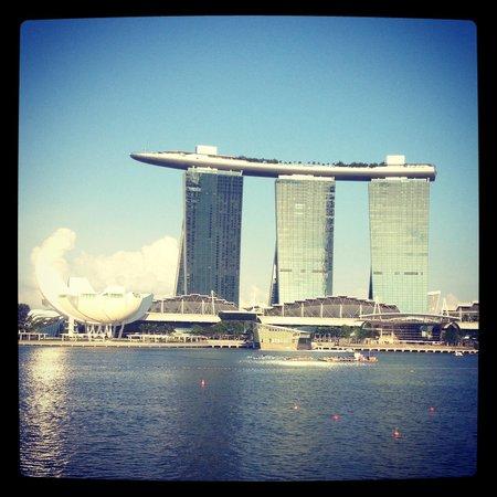 Mandarin Oriental, Singapore: vue de  baie