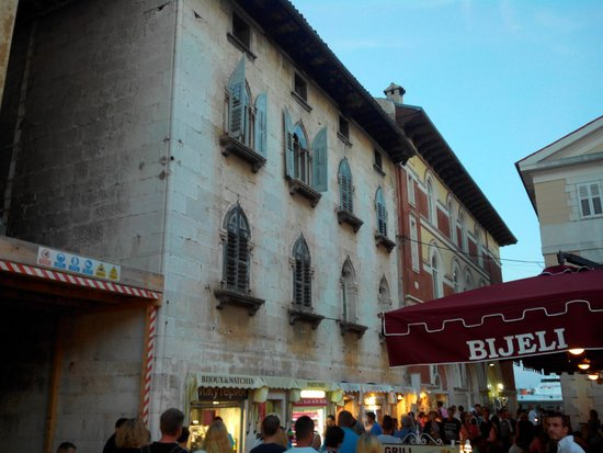 Porec Old Town: architecture