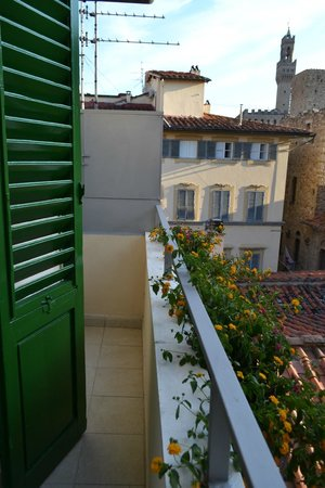 B&B Emozioni Charme: Lovely outlook from the balcony