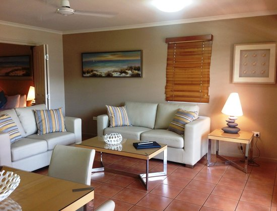 at Boathaven Spa Resort: Balcony Spa Suite