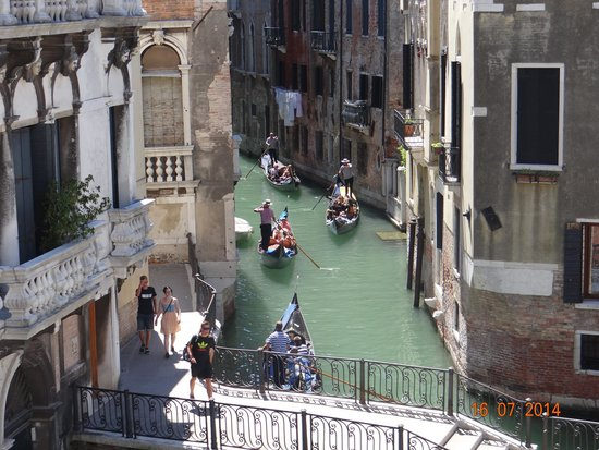 Hotel Ca' dei Conti : Vista desde el Palazzo
