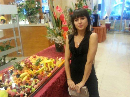 Hotel Parigi: Buffet di frutta!