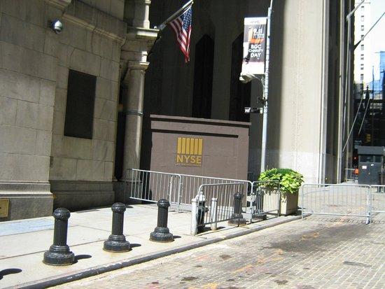 Wall Street : NYSE