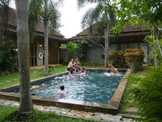 Bor Saen Villa & Spa: Our private pool