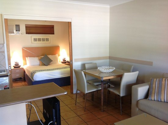 at Boathaven Spa Resort: Poolside Suite