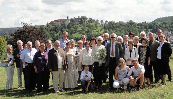 The Taste Hotel Heidenheim: Das Jubelpaar mit den Gästen