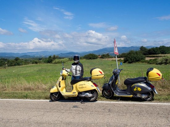 Umbria in Vespa: Maremma