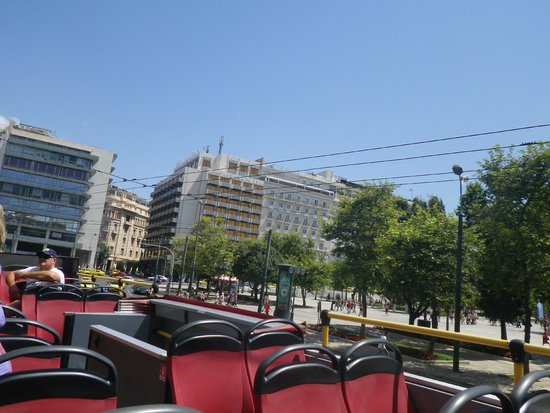City Sightseeing Athens & Piraeus: view from the top