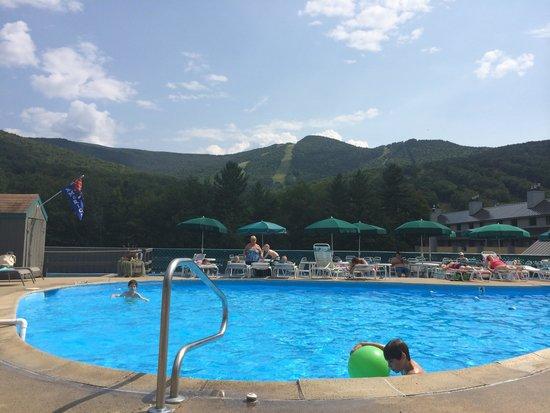Village Of Loon Mountain: poolside