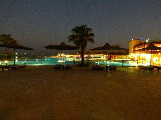 Blue Reef Red Sea Resort : výhled z pokoje