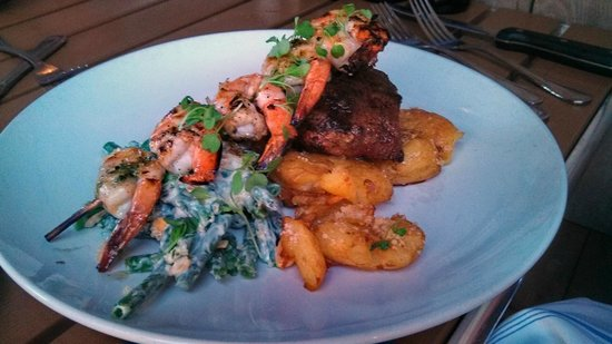 Hooked: surf and turf