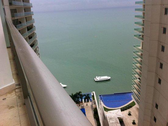 Trump International Hotel & Tower Panama: Vista del Balcón de la habitación